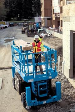 Approved Material Handling Attachments for Mobile Elevated Work Platforms