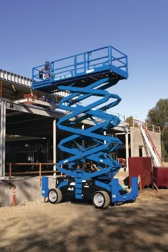 Aerial Equipment 101 What Is a Scissor Lift