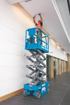 Why Genie Pins the Link Stack to Front of Its Scissor Lifts