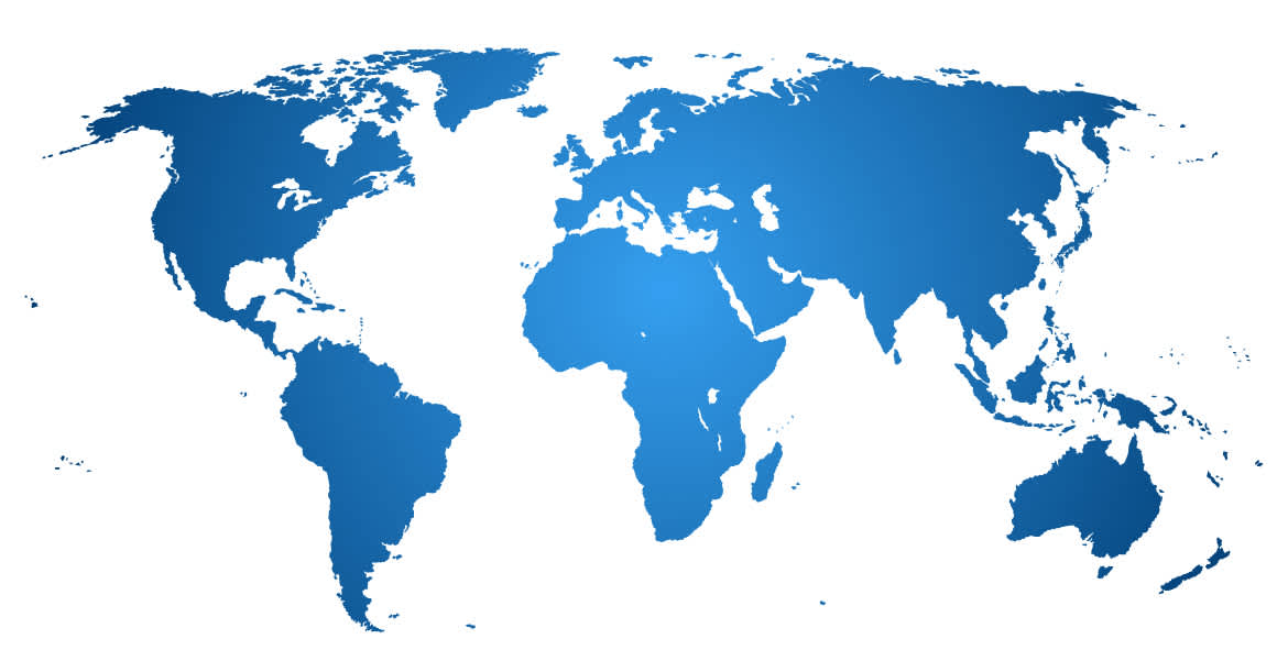 Genie a terex brand select region map of all continents fandeluxe Choice Image