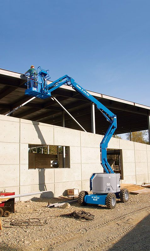 Genie Z-34/22 IC articulating boom lift