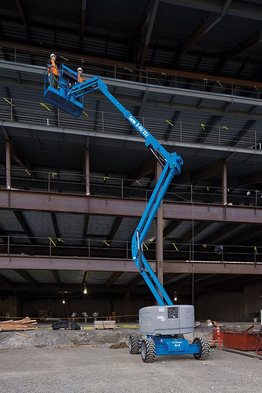 Genie Z-45/25 RT articulating boom lift
