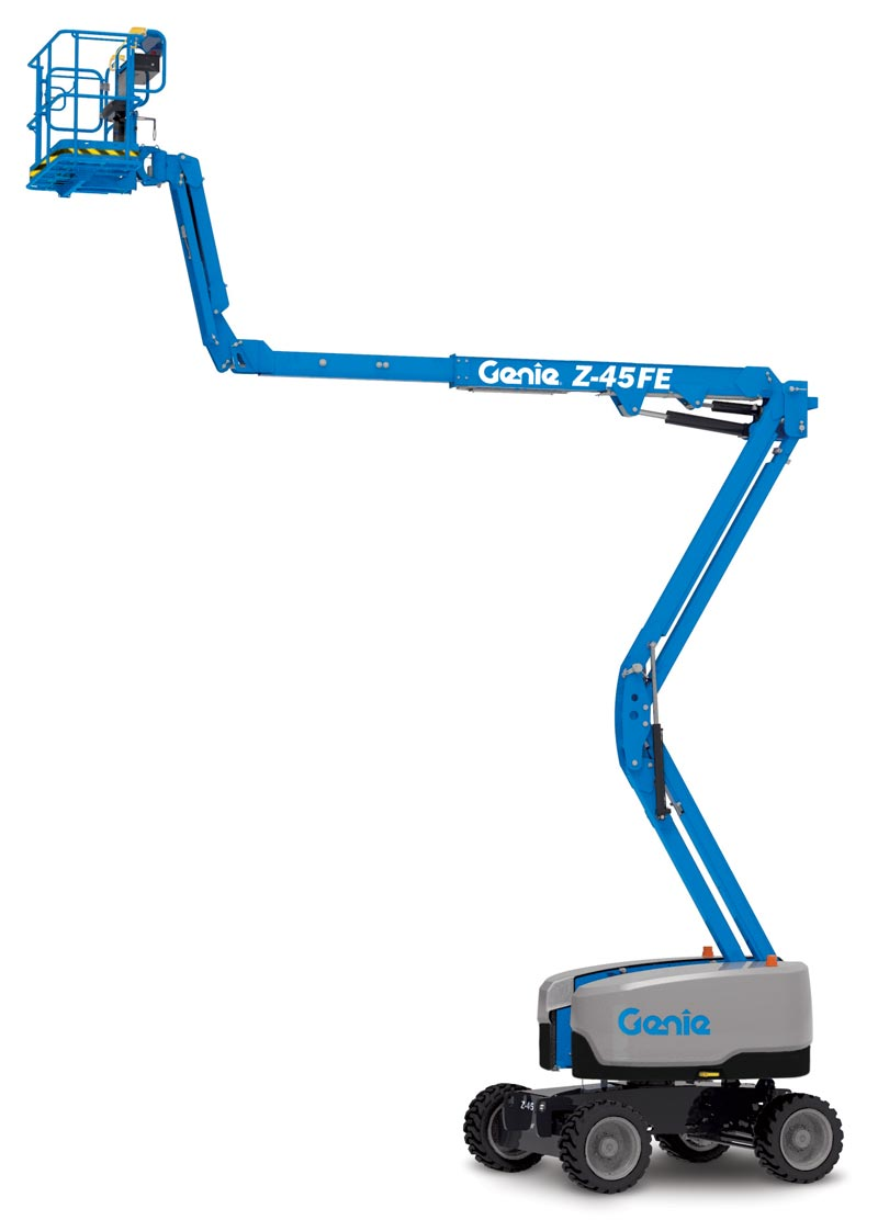 Genie Z-45 DC and FE Articlulating Boom Lift