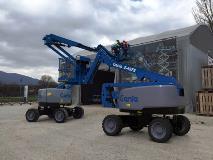 Genie Z-45 FE - Fuel Electric hybrid articulating boom lift
