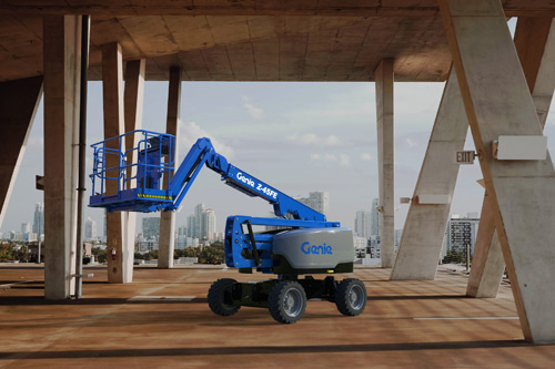 Genie Z-45 FE - Fuel Electric hybrid articulating boom lift