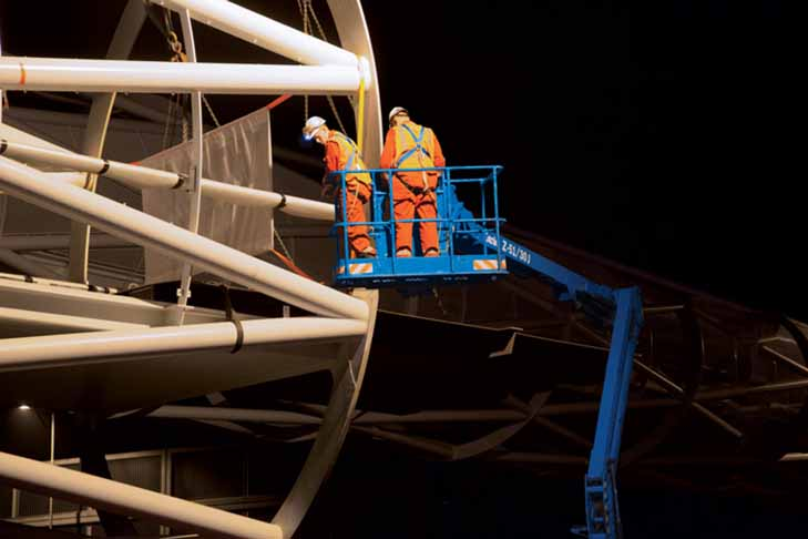Genie Z-51/30J RT articulating boom lift