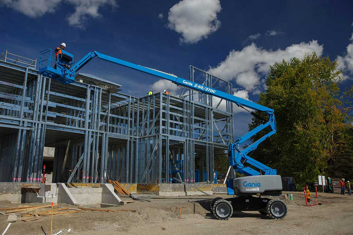 Genie Z-60/37 DC or FE articulating boom lift