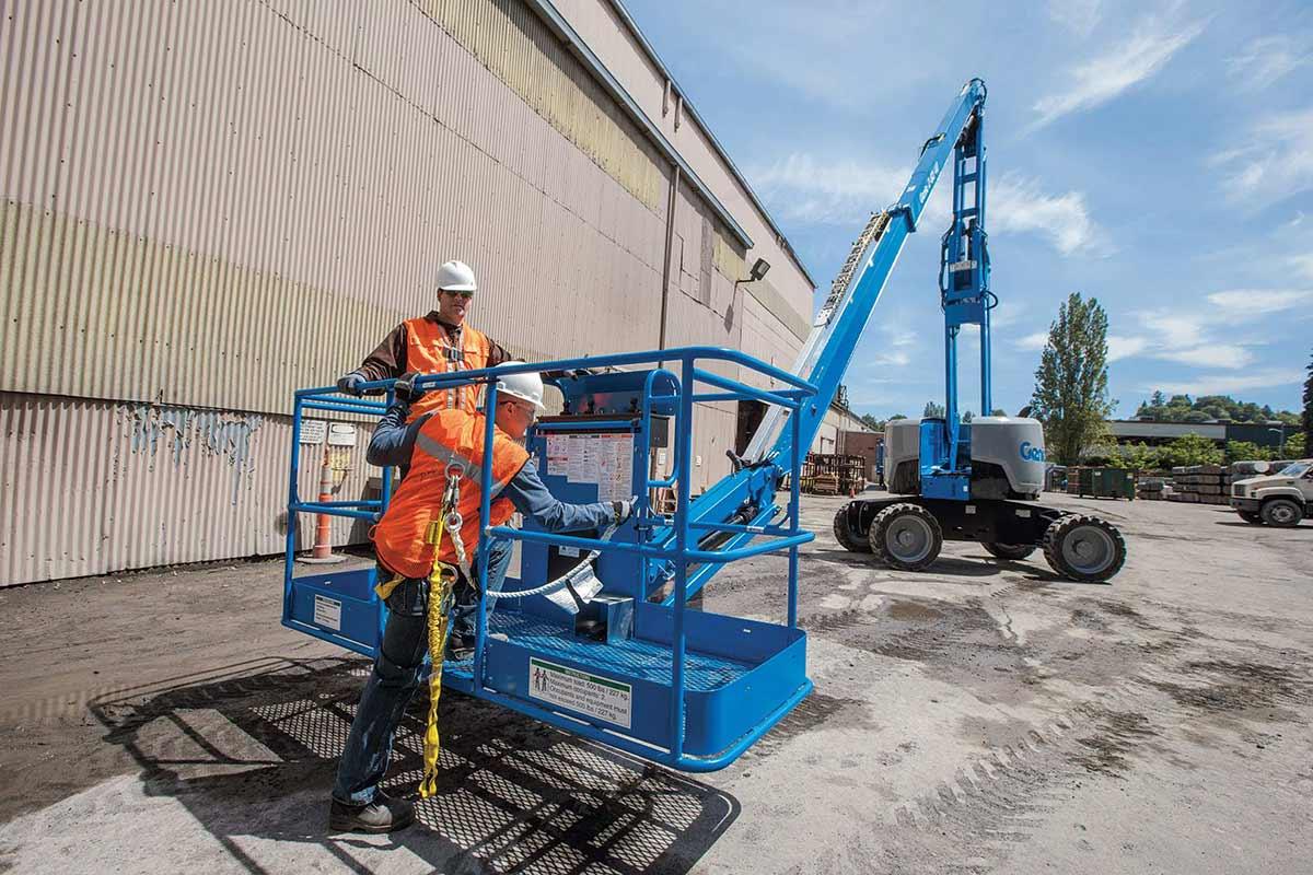 Genie Z-62/40 articulating boom lift