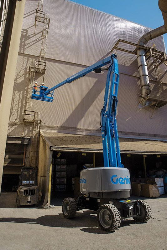 Genie Z-62/40 articulating boom lift