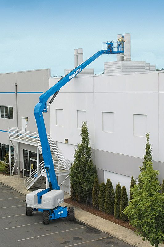 Genie Z-80/60 articulating boom lift