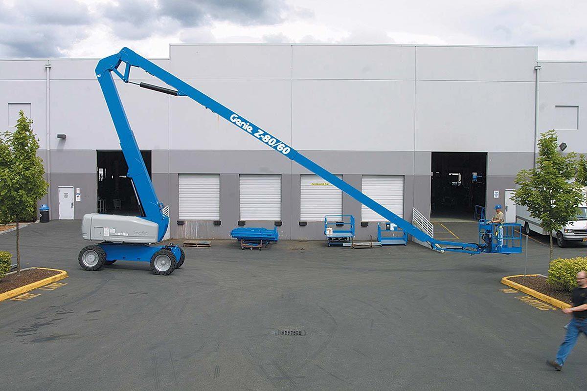 Genie Z-80/60 articulating boom lift