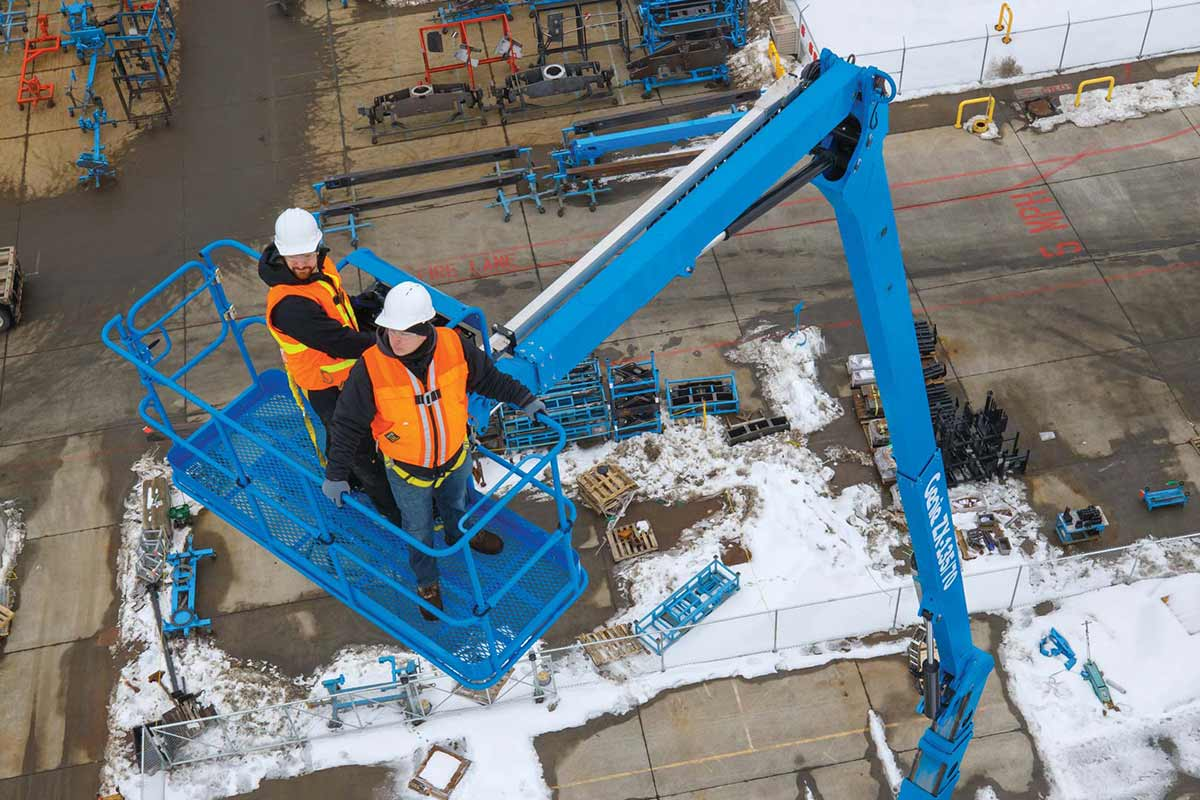 Genie® ZX®-135/70 Articulated Boom Lift on