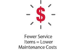7 - Fewer Service Items