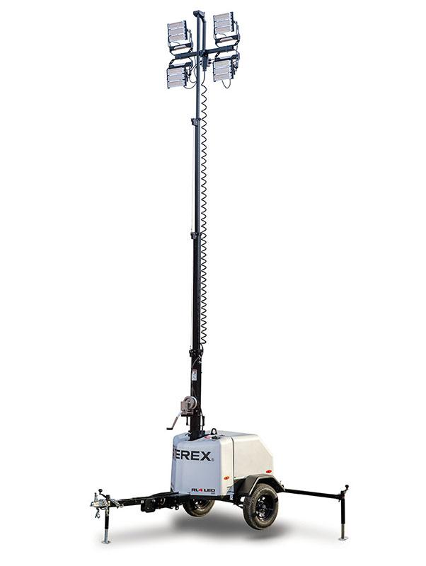 Terex RL4 LED Gas Light Tower