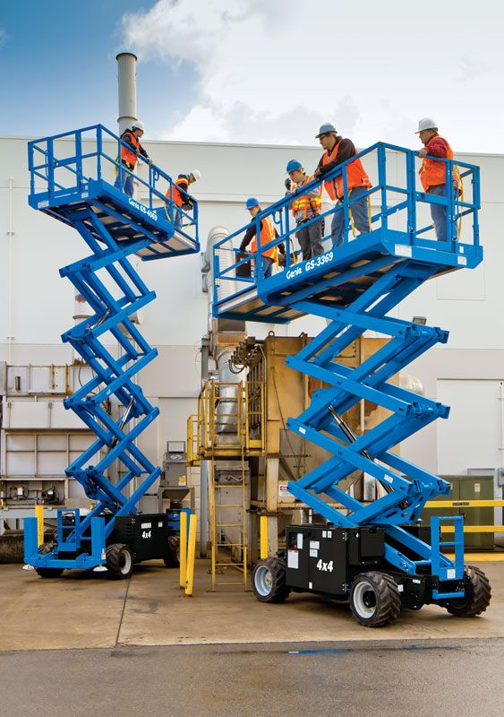 Genie 174 Gs 2669 Rt Rough Terrain Scissor Lift