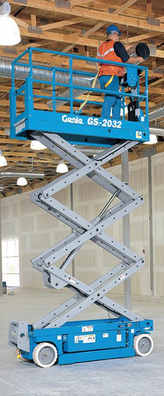 Genie GS-2032 Slab Scissor Lift