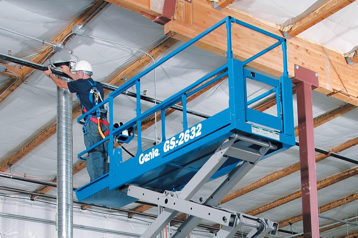 Genie GS-2632 Slab Scissor Lift