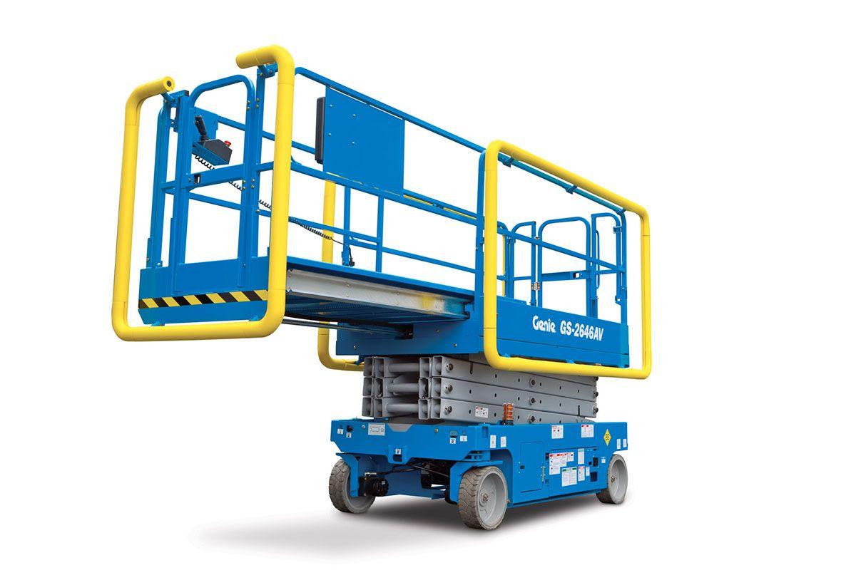 Genie GS-2646 AV scissor lift