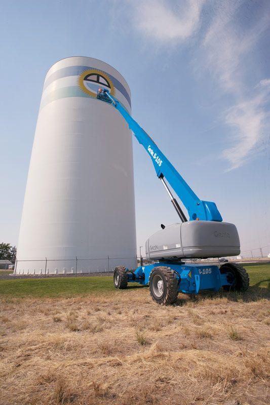 Genie S-105 telescopic boom lift