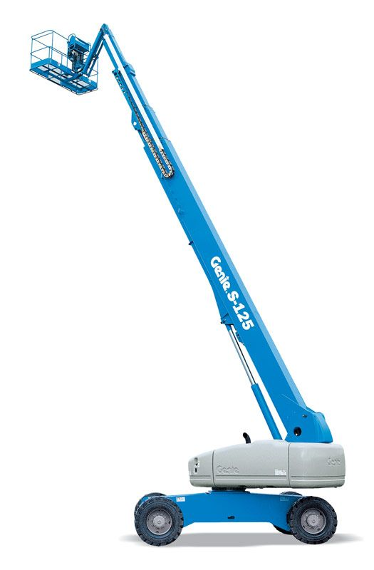Genie S-125 telescopic boom lift
