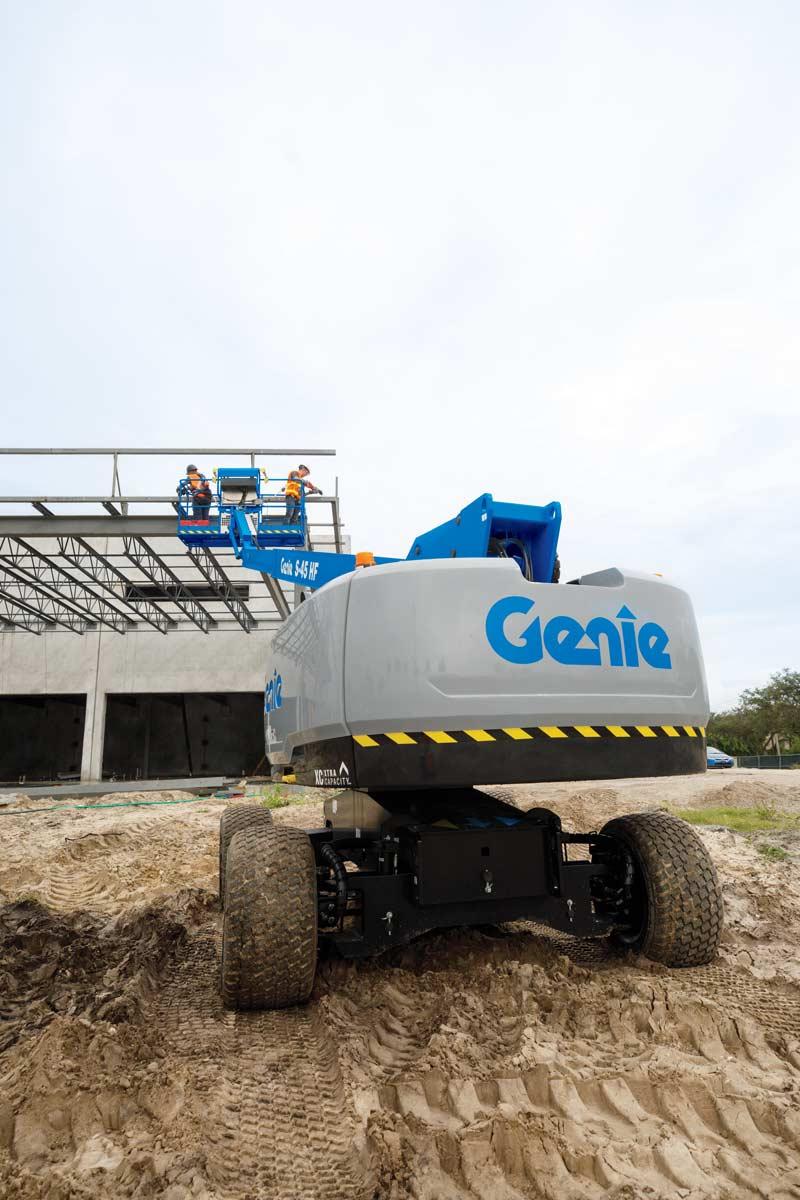 Genie S-45 HF High Float Boom Lift