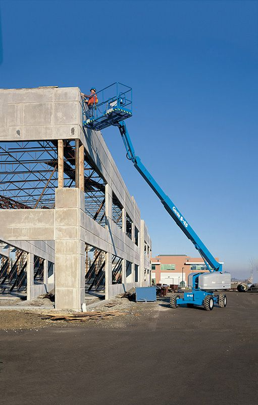 Genie S-45 telescopic boom lift