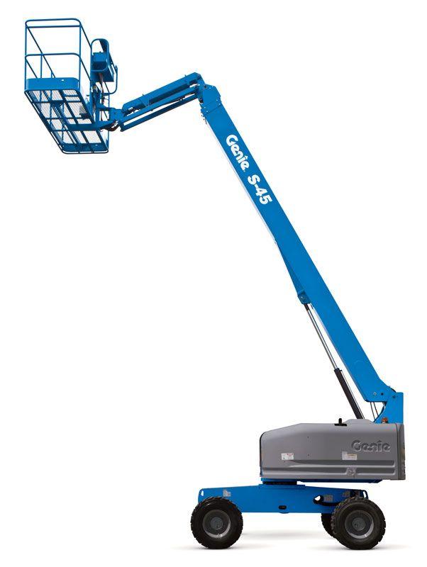 Genie S-45 telescopic boom lift