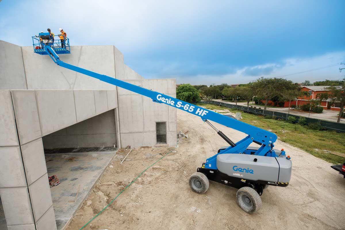 Genie S-65 HF High Float Boom Lift