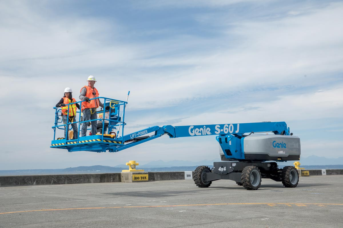 Genie S-60 J Telescopic Boom Lift