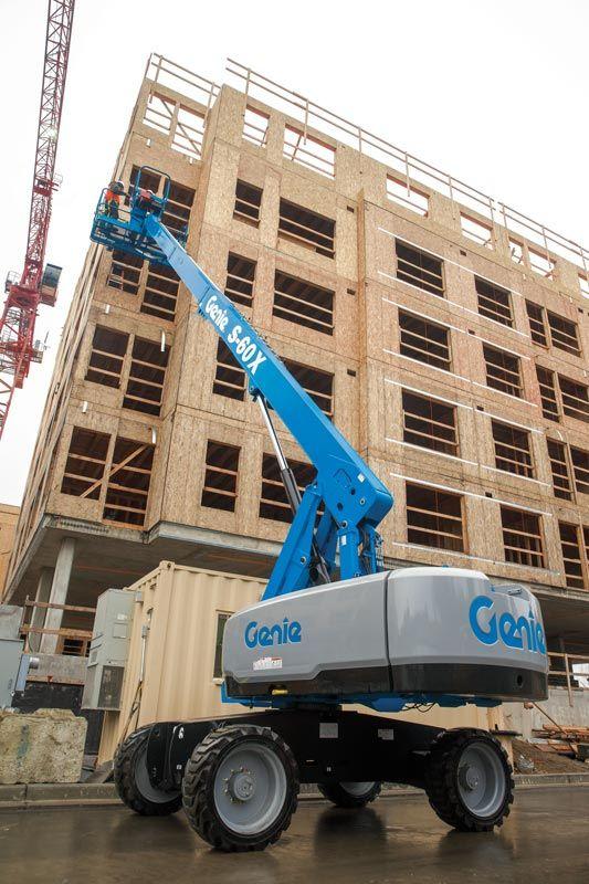 Genie S-60 X telescopic boom lift