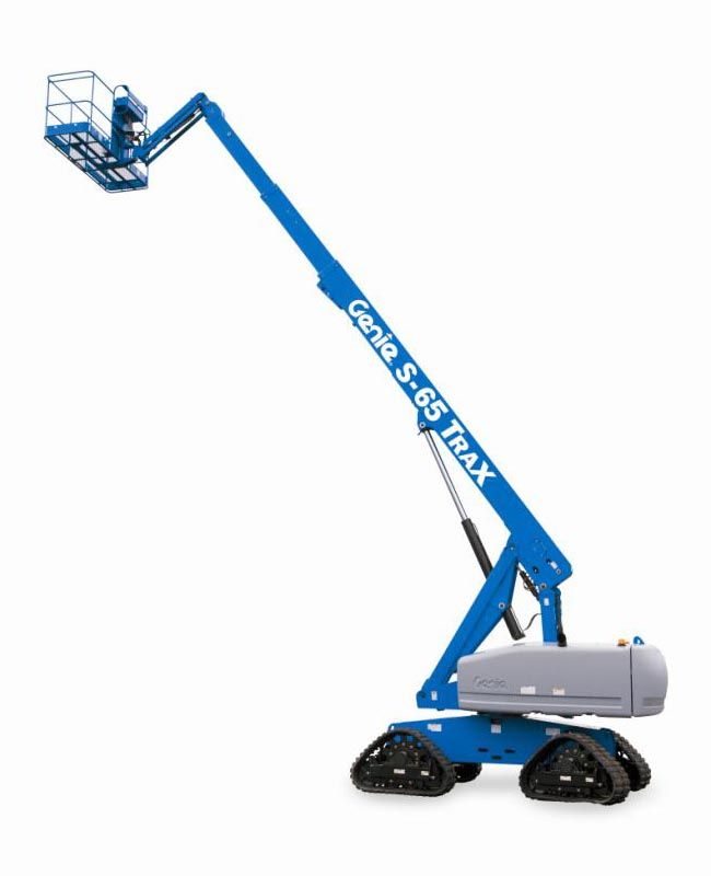 Genie S-65 Trax telescopic boom lift