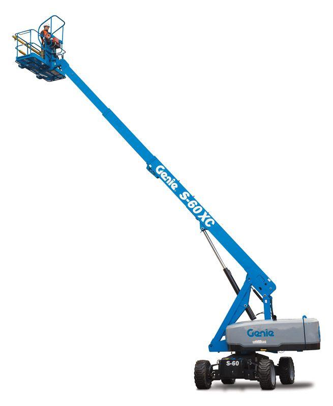Genie S-60 XC telescopic boom lift