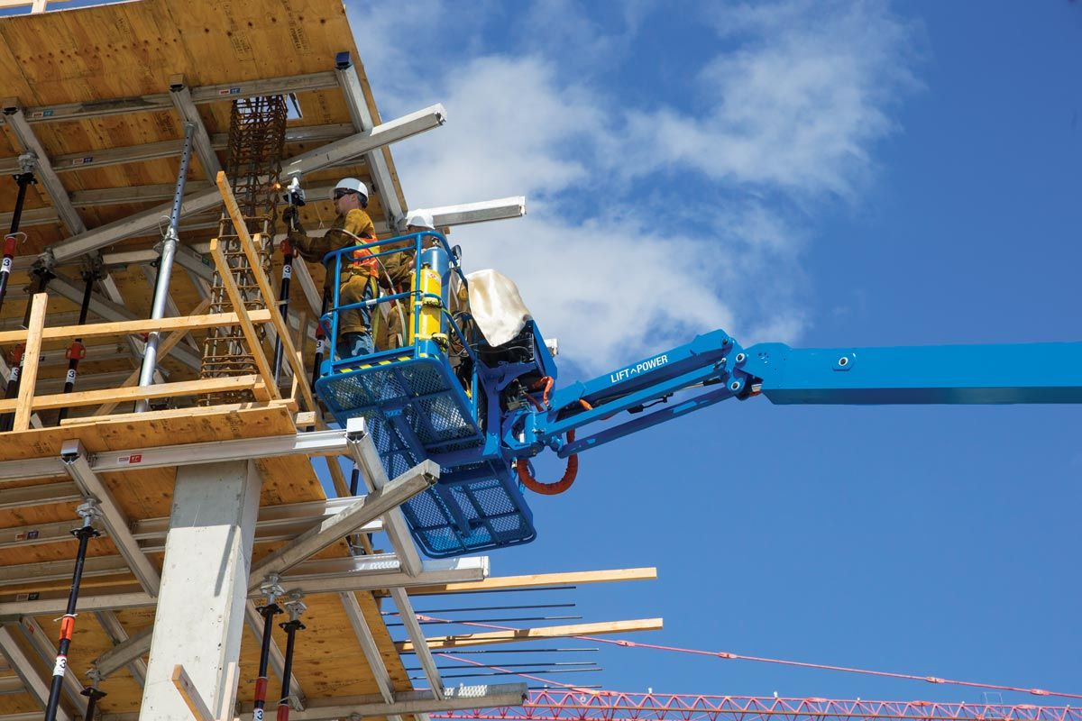 Genie S-85 XC telescopic boom lift