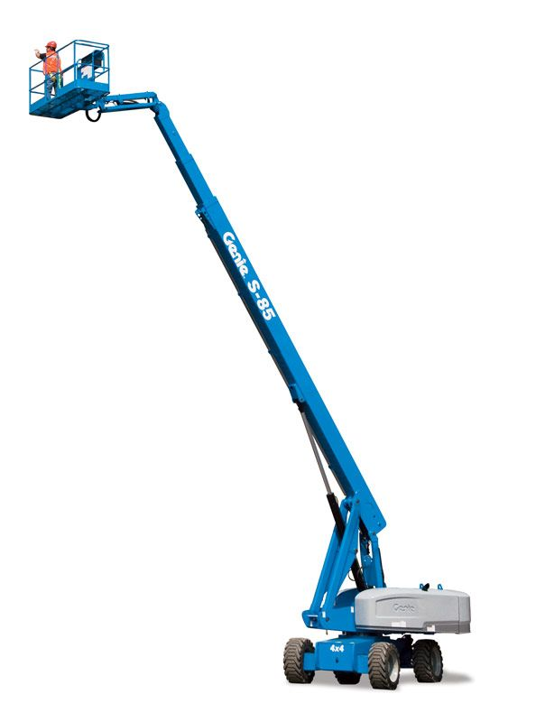 Genie S-85 telescopic boom lift