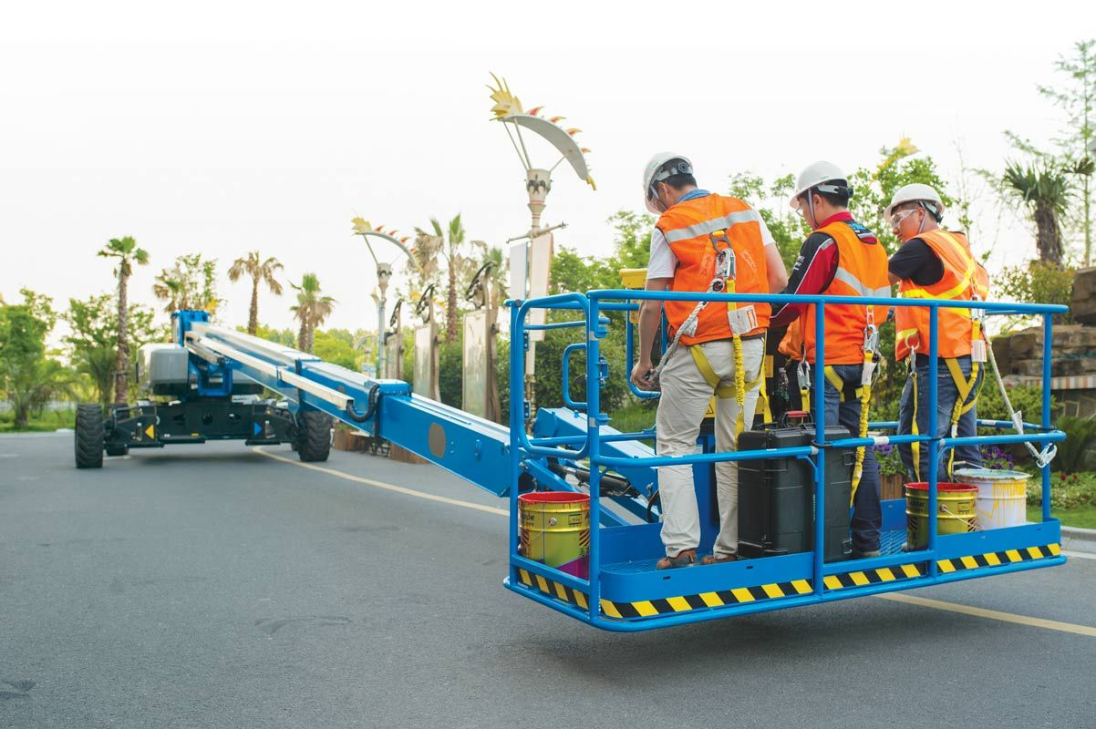 Genie SX-105 XC telescopic boom lift