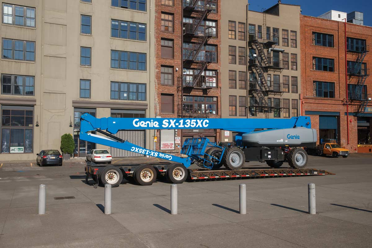 Genie SX-135 XC telescopic boom lift