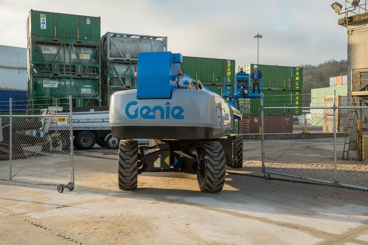 Genie SX-150 telescopic boom lift