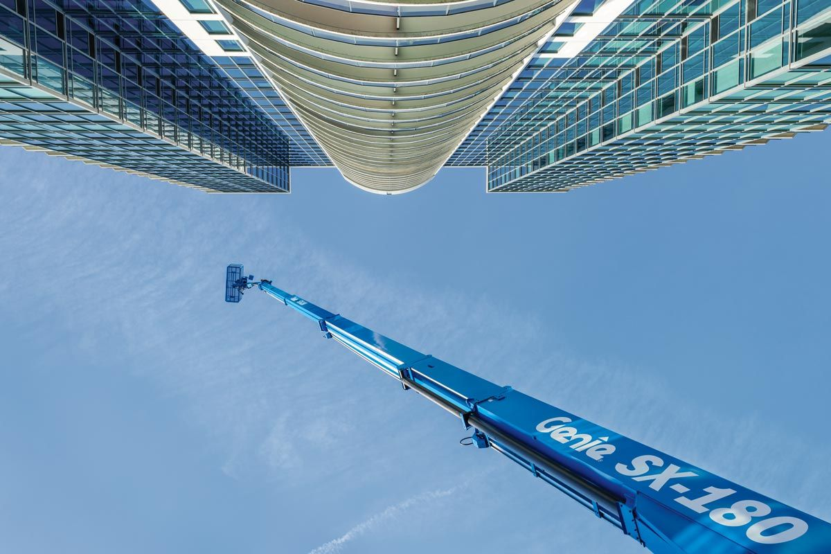 Genie SX-180 telescopic boom lift