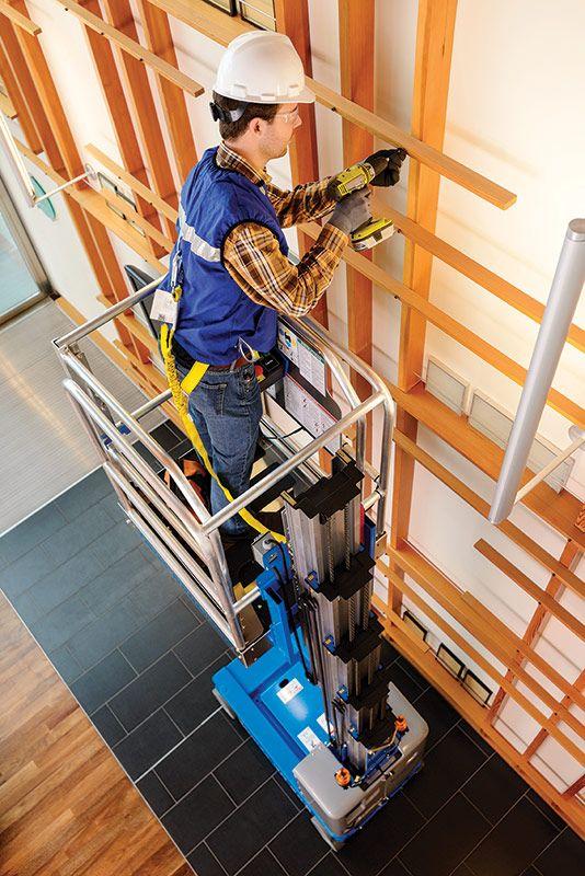 Genie GR-20 vertical mast lift