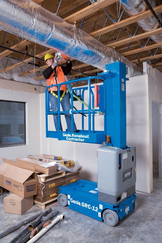 Genie GRC-12 vertical mast lift