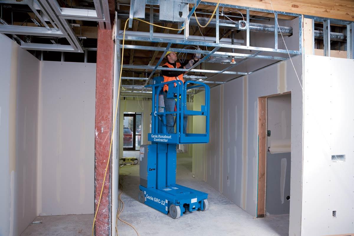 Vertical Mast Lifts Genie Awp 25s Lift Wiring Diagram Grc 12
